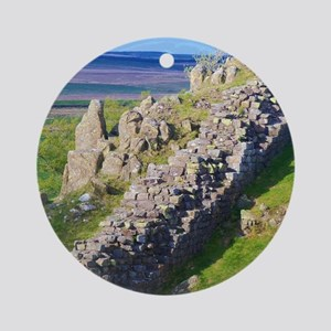 Hadrian's Wall Round Ornament