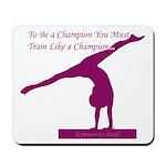 Gymnastics Mousepad - Champion