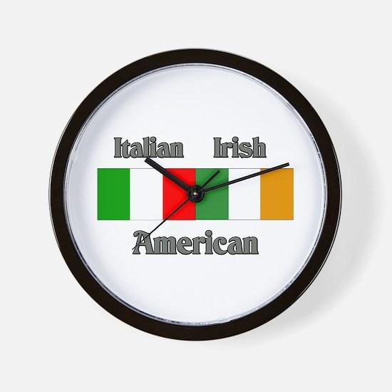 Italian Irish American Wall Clock