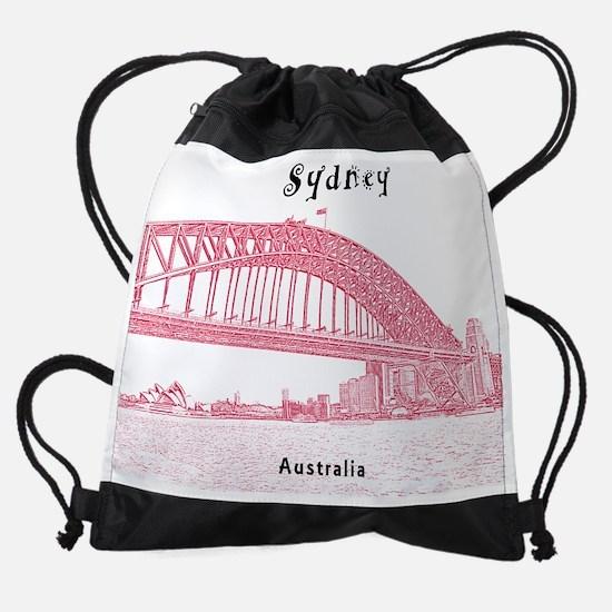 Sydney_10.25x8.25_SydneyHarbour Drawstring Bag