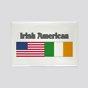 Irish American Rectangle Magnet