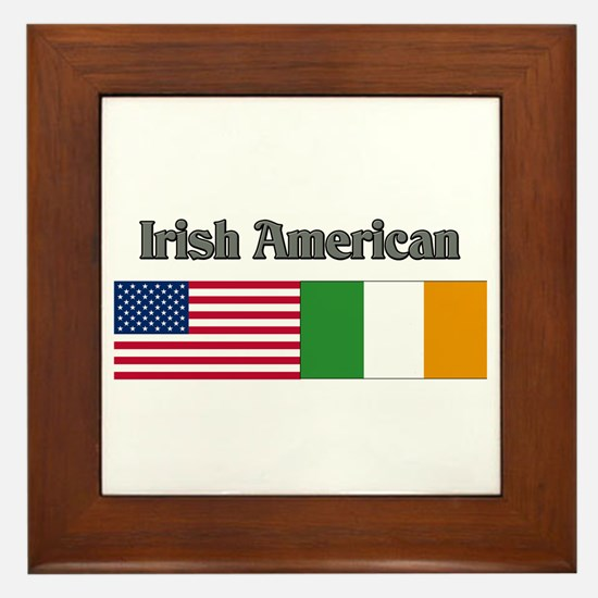Irish American Framed Tile