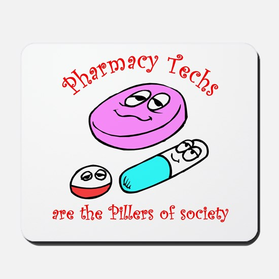 Pillers of society Mousepad