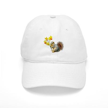 Squirrel Daffodils Cap