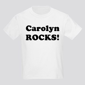 Carolyn Rocks! Kids T-Shirt