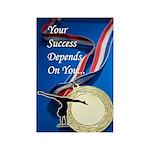 Gymnastics Magnets (100) - Success