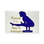 Gymnastics Magnets (100) - Focus
