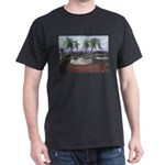 Blue Moon Palms Dark T-Shirt