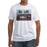 Blue Moon Palms Fitted T-Shirt
