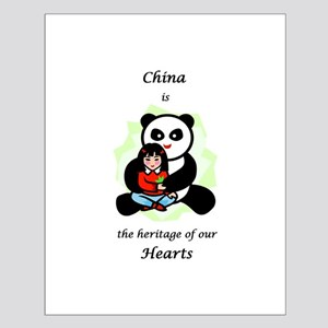 China Is The Heritage Of Our  Small Poster