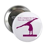 Gymnastics Button - Champion