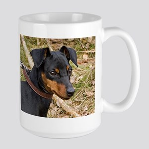 miniature pinscher black and tan Mugs