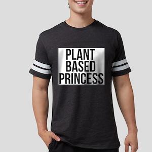 Plant Based Princess Vegan Veg Mens Football Shirt
