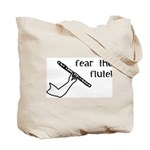 Fear the Mighty Flutist Gig Bag for Accessories
