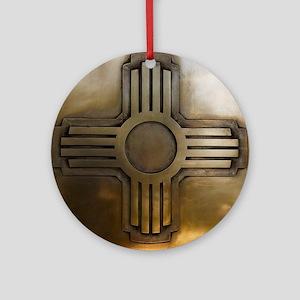 Zia Ornament (Round)