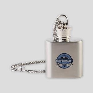 Mont-Tremblant Blue Flask Necklace