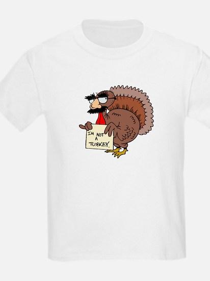 I am not a Turkey Kids T-Shirt