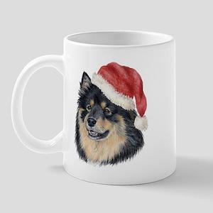 Christmas Finnish Lapphund Mug