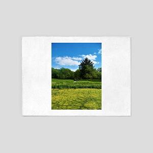 Scottish Landscape 5'x7'Area Rug