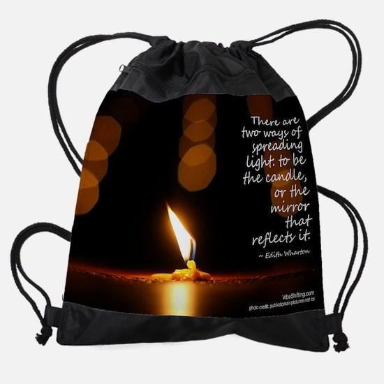 light - Vibe Shifting Calendar Drawstring Bag