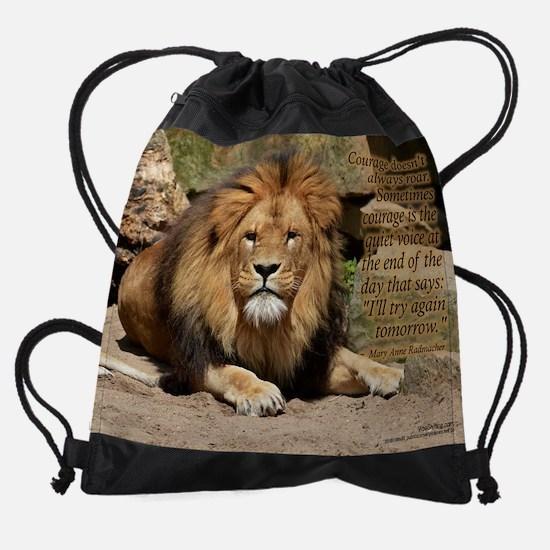 lion  - Vibe Shifting Calendar Drawstring Bag