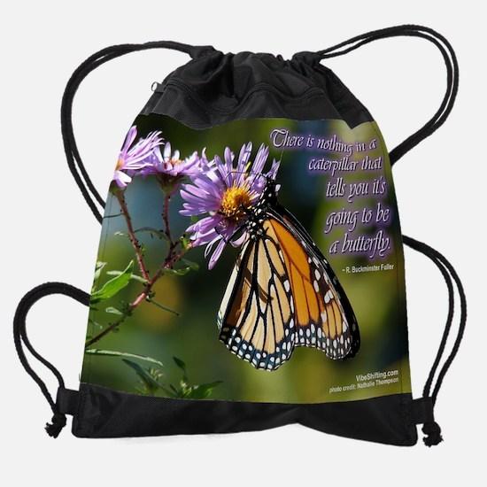 butterfly - Vibe Shifting Calendar Drawstring Bag