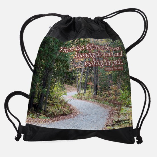 path - Vibe Shifting Calender Drawstring Bag