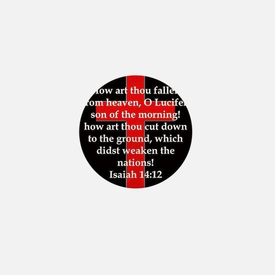 Isaiah 14:12 Mini Button