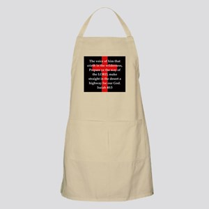 Isaiah 40:3 Light Apron