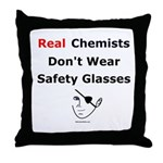 Molecularshirts.com Real Chemists Throw Pillow