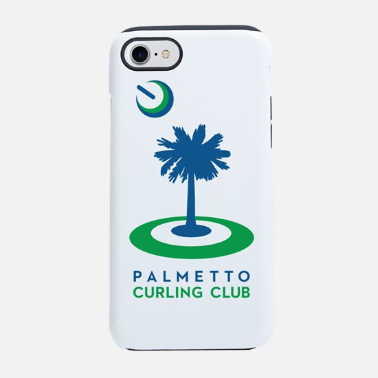 PCC logo, blue tree iPhone 7 Tough Case