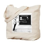 Math Cartoon 5850 Tote Bag