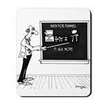 Math Cartoon 5850 Mousepad