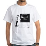 Math Cartoon 5850 White T-Shirt