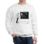 Math Cartoon 5850 Sweatshirt