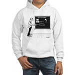 Math Cartoon 5850 Hooded Sweatshirt