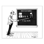 Math Cartoon 5850 Small Poster