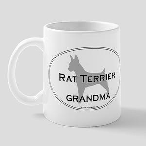 Rat Terrier GRANDMA Mug