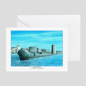 Submarine Greeting Cards (Pk of 10)