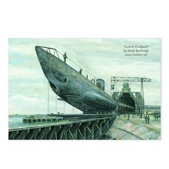 U-Boat Postcards (Package of 8)