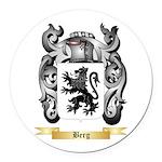 Berg Round Car Magnet