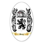 Berg Sticker (Oval 10 pk)