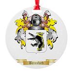 Beresford Round Ornament