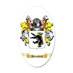 Beresford Oval Car Magnet