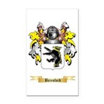 Beresford Rectangle Car Magnet