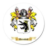 Beresford Round Car Magnet