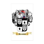 Beresford (Baron decies) Sticker (Rectangle 10 pk)