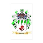 Berens Sticker (Rectangle 10 pk)
