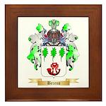 Berens Framed Tile