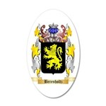 Berenholtz 35x21 Oval Wall Decal